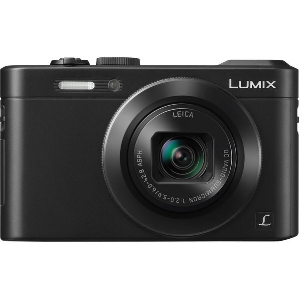 Panasonic LUMIX DMC-LF1 12.1MP Black Digital Camera
