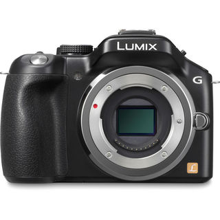 Panasonic Lumix DMC-G5K 16MP Black Mirrorless Digital Camera (Body Only)