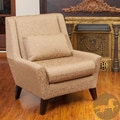 Christopher Knight Home 'Naomi' Nugget Fabric Accent Chair