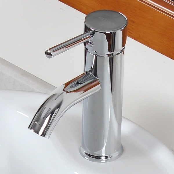 Bathroom Single Handle Faucet : ... F371024C Luxury Short Chrome Single-handle Bathroom Lavatory Faucet
