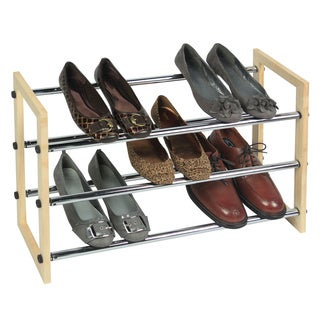 Richards Homewares 3-tier Expandable/ Stackable Shoe Rack