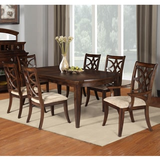 Solina 7-piece Extendable Butterfly Dining Set