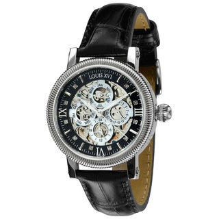LOUIS XVI Men's 'Richelieu' Diamond-accented Automatic Watch