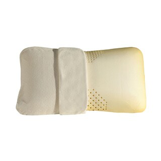 Sleep Zone Tri-Zone Memory Foam Pillow