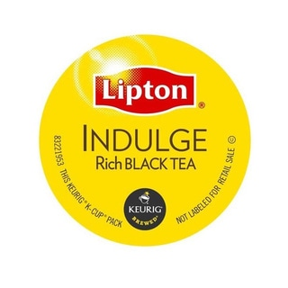 Lipton Indulge Rich Black Tea K Cups