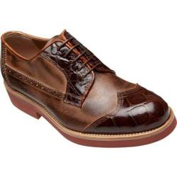 Men's Mauri M784 Sport Rust Calfskin/Alligator