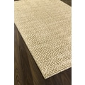 Hand-made Minotaur Cream Wool Rug (6'0 x 9'0)