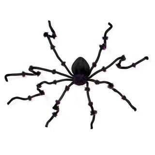 Black 8-foot Giant Tarantula Outdoor Ornament