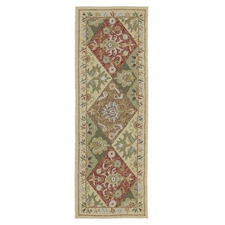 Fiesta Multi-colored Indoor/ Outdoor Panel Rug (2'0 x 6'0)