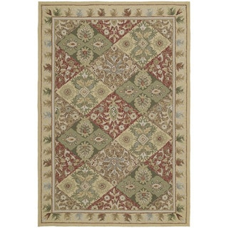 Fiesta Multi-colored Indoor/ Outdoor Panel Rug (5'0 x 7'6)