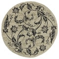 Fiesta Sandy Indoor/ Outdoor Paradise Rug (5'9 Round)