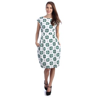 Kingdom & State Cap Dress-Pebble Print