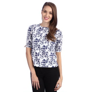Kingdom & State Women's Fall Floral Crop Top