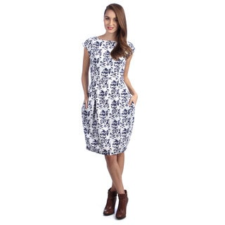 Kingdom & State Women's Floral Cap Dress