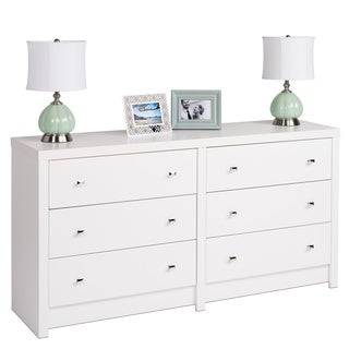 6 Drawer Dressers Chests Stylish Clothing Storage