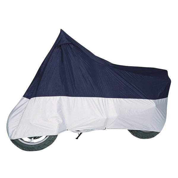 MG Blue and Silver Motorcycle Cover
