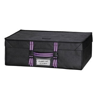 Richards Homewares Black Closet Compactor Chest