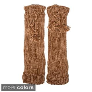 Hand-knit Classic Winter Legwarmers (Nepal)