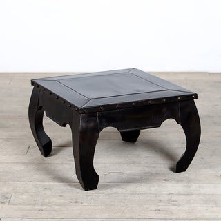Solid Metal Opium Accent Table (India)