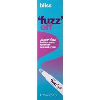 Bliss Fuzz Off Facial Hair Removal 5-ounce Cream