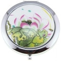 Handmade Porcelain Water Lily Flower Cosmetic Mirrors (China)