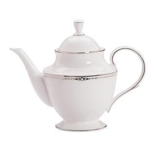 Lenox Pearl Platinum Tea Pot