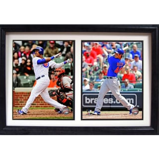 Chicago Cubs 12 x 18 Double Frame