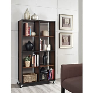 Mason Ridge Mobile Bookcase and Room Divider