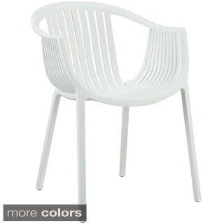Hammock White Plastic Stackable Chair