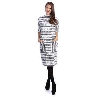 Kingdom & State Women's Printed Dolman Dress