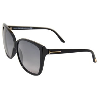 Tom Ford Men's 'Lydia 01B' Black Fashion Sunglasses