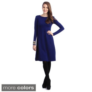 Kingdom & State Women's Long Sleeve Jersey Dress