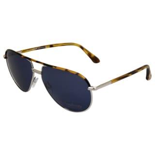 Tom Ford Men's Havana Brown Aviator Sunglasses