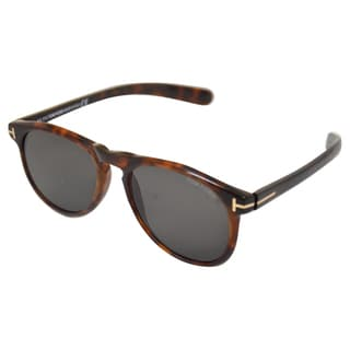 Tom Ford Men's 'Flynn 52R' Havana Brown Sunglasses