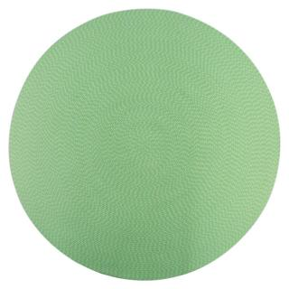 Lemonade Indoor/ Outdoor Lime Braided Rug (6' Round)