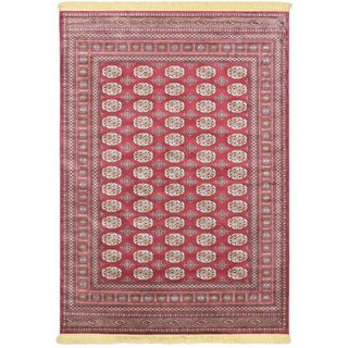 Soraya Silko Red Rug (5-feet, 2-inches x 7-feet, 7-inches)