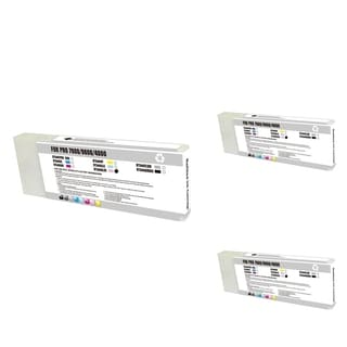 INSTEN Epson T544600 LM Magenta Cartridge Set (Remanufactured) (Pack of 3)