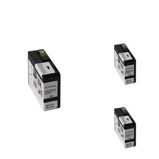 INSTEN Epson T5808MBK 80ml Black Cartridge Set (Remanufactured) (Pack of 3)