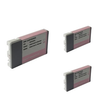 INSTEN Epson T6036LM 220ml Magenta Cartridge Set (Remanufactured) (Pack of 3)