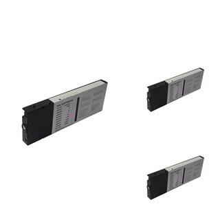 INSTEN Epson T6066LM 220ml Magenta Cartridge Set (Remanufactured) (Pack of 3)