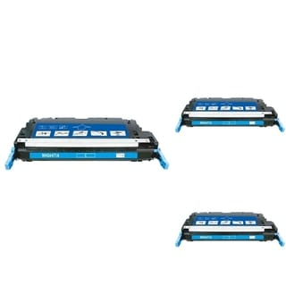 BasAcc Cyan Cartridge Set Compatible with HP Q6471A (Pack of 3)