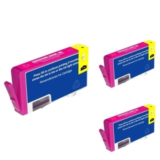 HP CB324WN Magenta Cartridge Set (Remanufactured) (Pack of 3)