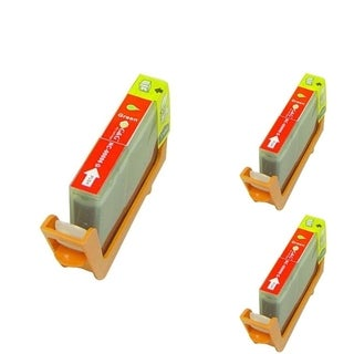 BasAcc Green Cartridge Set Compatible with Canon BCI-6G (Pack of 3)