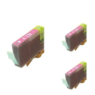 BasAcc Magenta Cartridge Set Compatible with Canon BCI-5 (Pack of 3)
