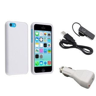 BasAcc Case/ Wireless Headset/ Car Charger Adapter for Apple iPhone 5C