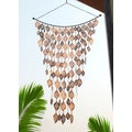 Monarch's Copper 42 X 24-inches Cascading Leaves Wind Art