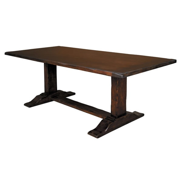 counter height dining table trestle counter height dining table