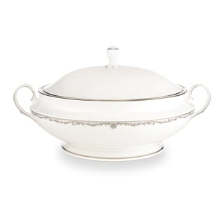 Lenox Coronet Platinum Covered Vegetable Bowl