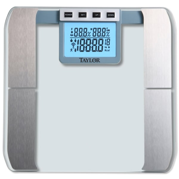 Taylor Glass Platform Body Fat Scale