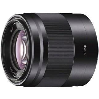 Sony SEL50F18/B 75 mm f/1.8 Mid-range Zoom Lens for E-mount